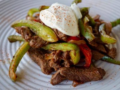 QUICK MEXICAN BEEF STRIPS