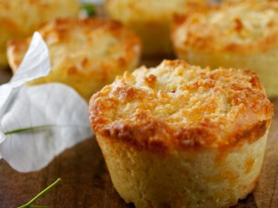 CHEESY LOW CARB MUFFINS